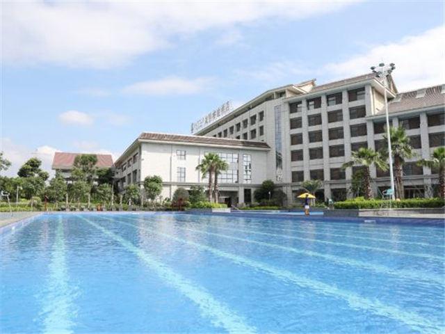 五星级酒店游泳池